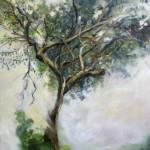 PigeonWood Tree, 2013, Oil on board, 42x30cm