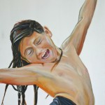 Luisa...She Just Is..., 2011, Oil on Canvas, 100 x 70cm