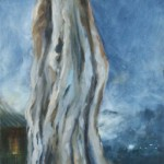 Strong and Serene, 2013, Oil on board, 30x15cm