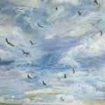 Clouds of Promise, 2011, Oil on Canvas, 140 x 120cm