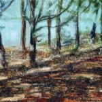 Coastal Forest, 2011, Oil on Canvas, 20 x 48cm