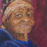 Gogo, Proudly South African, 2012, Oil on Canvas, 50 x 40cm