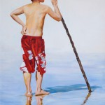 Reflective Shadow, 2010, Oil on canvas, 70 x 100cm