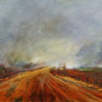 Into Hope, 2013, Oil on board, 20x30cm
